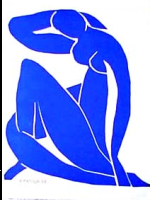 Edge drawing by Matisse